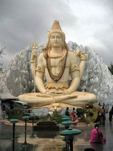 Shiva Statue in Bangalore, India