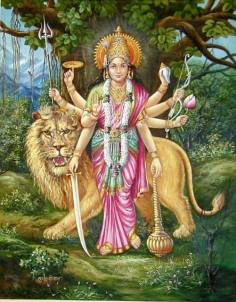 Durga, an aspect of Shakti