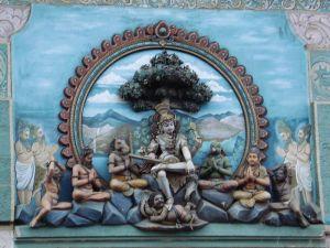 Shiva as dakshinamurthy, the Guru
