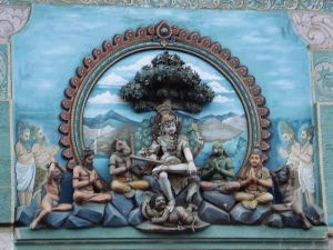 Shiva as dakshinamurthy, the Guru