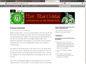 The Shatkona - A Westerner On The Hindu Path