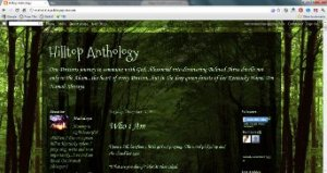 The Hilltop Anthology blog (screenshot)