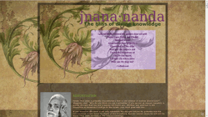 The jnana.nanda blog