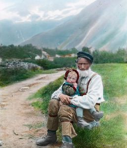 Old man and Child
