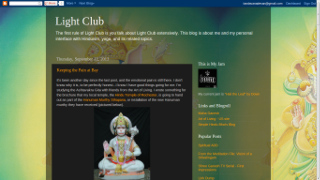 The Light Club blog