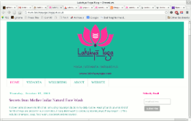 The Lakshya yoga blog